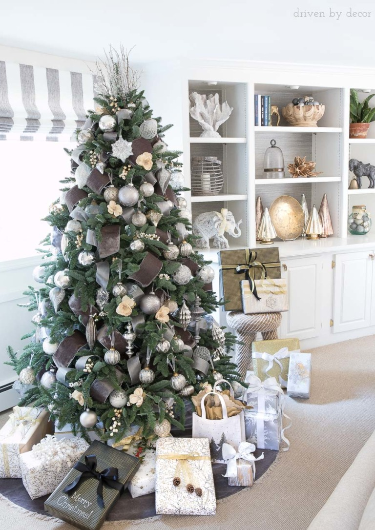 christmas-tree-metallics-silver-gold-presents-768×1086